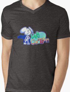 """Dogs and Tony Harl """"Dog Cartoon"""" Design Mens V-Neck T-Shirt"""