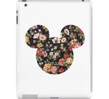 Mickey Floral iPad Case/Skin