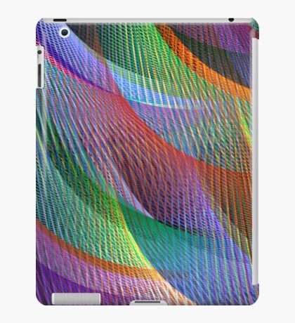 colored loom iPad Case/Skin