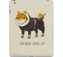 shiba inu-it iPad Case/Skin