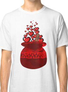 Red Potion Hearts w/o Cartridge Classic T-Shirt