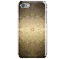 Scratching The Surface - a meditative pattern iPhone Case/Skin