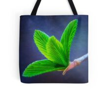 Vivacious Viburnum Leaves Tote Bag