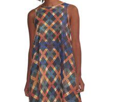 Supreme tartan A-Line Dress