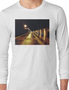 11:13, A man's following me Long Sleeve T-Shirt