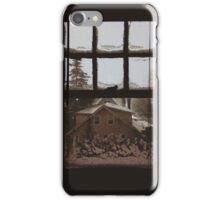 9:04, Waking up to snow iPhone Case/Skin