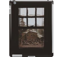 9:04, Waking up to snow iPad Case/Skin