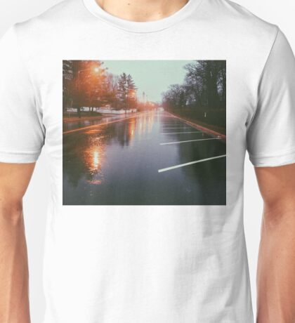 7:42, Walked out of a forest to find rain Unisex T-Shirt