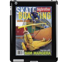 Big Brother Magazine iPad Case/Skin