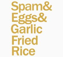 Spam, Eggs, Garlic Fried Rice Kids Clothes