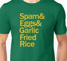 Spam, Eggs, Garlic Fried Rice Unisex T-Shirt