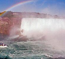 Niagara Rainbow by John Schneider