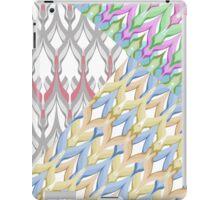 Patchwork seamless retro pattern background iPad Case/Skin