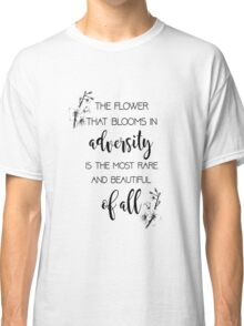 The Flower That Blooms- Mulan Classic T-Shirt