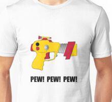 Laser Gun Pew Unisex T-Shirt