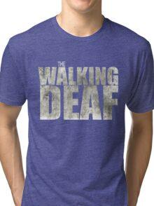 The Walking Deaf Tri-blend T-Shirt
