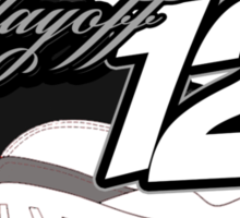 Playoff 12's Sticker