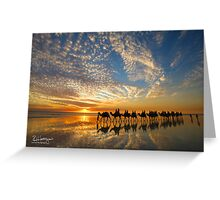 Cable Beach Icons Greeting Card