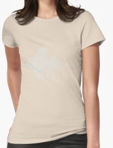 Tribal Fish Womens Fitted T-Shirt