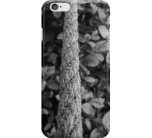 Rope to leaves iPhone Case/Skin