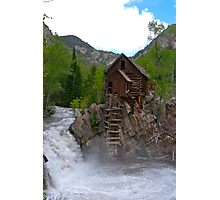 Crystal Mill Photographic Print