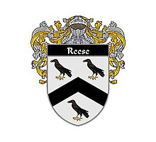 Reese Coat of Arms / Reese Family Crest Photographic Print