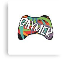 Gaymer Canvas Print