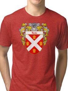Reid Coat of Arms / Reid Family Crest Tri-blend T-Shirt