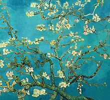 Vincent Van Gogh Blossoming Almond Tree by finearts