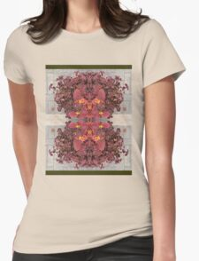 COLEUS RED DEVIL 99 Womens Fitted T-Shirt