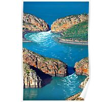 The Horizontal Waterfalls Poster