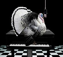 *•♪♫•*TURKEY TOM SINGING-COLD TURKEY HAS GOT ME ON THE RUN-THROW PILLOW *•♪♫•* by ✿✿ Bonita ✿✿ ђєℓℓσ