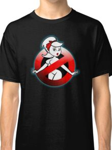 The REAL Lady Ghostbusters - Rule #63 (Logo) Classic T-Shirt