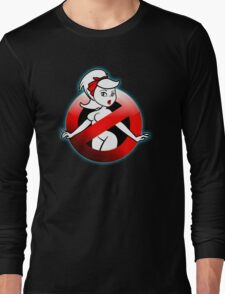 The REAL Lady Ghostbusters - Rule #63 (Logo) Long Sleeve T-Shirt