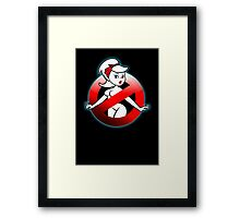 The REAL Lady Ghostbusters - Rule #63 (Logo) Framed Print