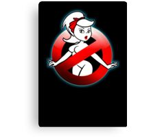 The REAL Lady Ghostbusters - Rule #63 (Logo) Canvas Print