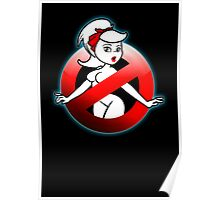 The REAL Lady Ghostbusters - Rule #63 (Logo) Poster