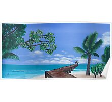 The Beach Walkway Poster