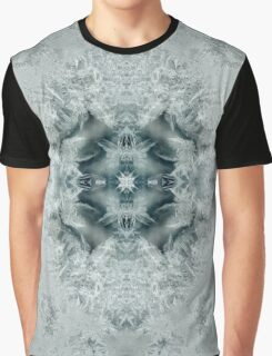 Icelandia - A Meditative Pattern in Ice Graphic T-Shirt