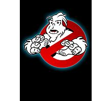 PNW: Ghostbusters Poster (logo) Photographic Print