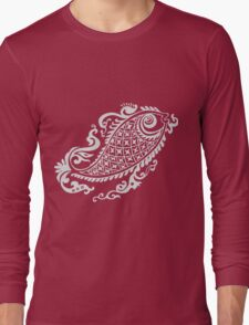Tribal Fish Long Sleeve T-Shirt