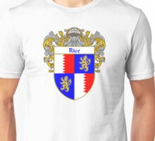 Rice Coat of Arms / Rice Family Crest Unisex T-Shirt