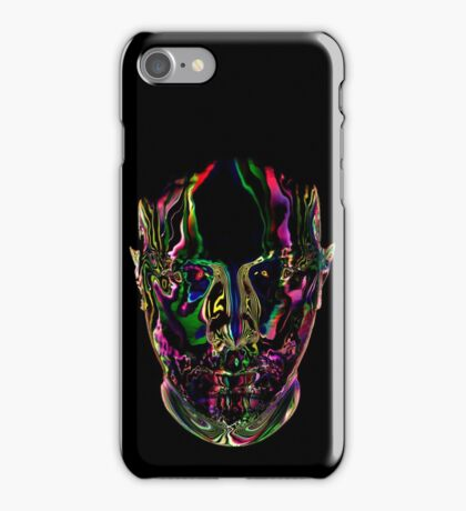 Eric Prydz Opus Head Transparant iPhone Case/Skin