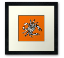 Fall Crab Framed Print