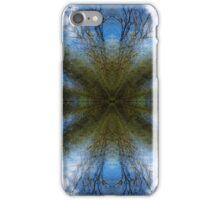 Blue Skies - A Meditative Photo Product iPhone Case/Skin