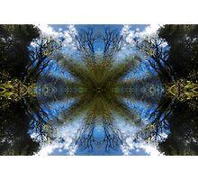 Blue Skies - A Meditative Photo Product Photographic Print