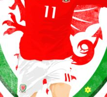 TOGETHER STRONGER, WALES, GARETH BALE, EURO Sticker