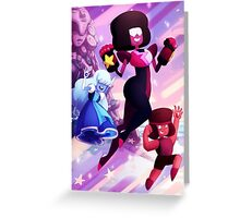 Garnet - Steven Universe Fanart, Sapphire, Ruby, Fusion Greeting Card