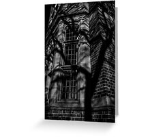 Wall Shadows Greeting Card