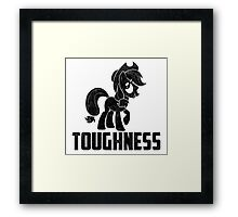 AppleJack - Toughness Framed Print